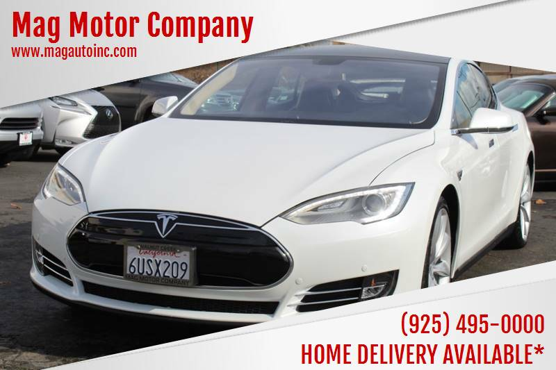 2012 Tesla Model S for sale at Mag Motor Company in Walnut Creek CA