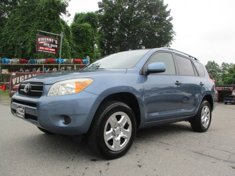 2006 Toyota RAV4 for sale at Vigeants Auto Sales Inc in Lowell MA