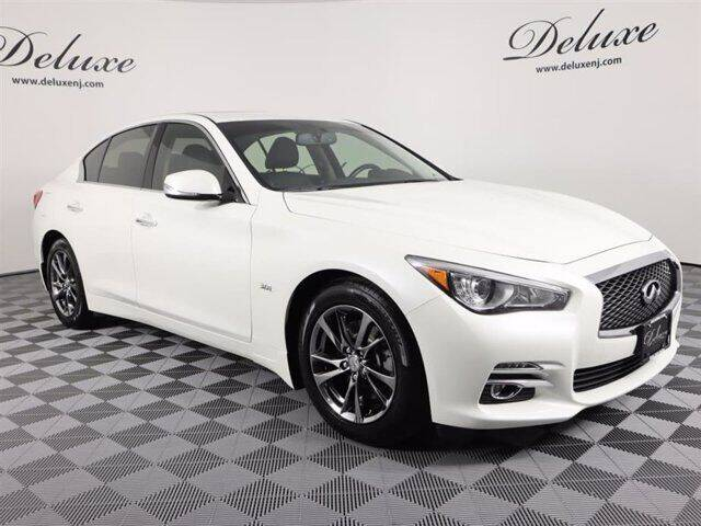 2017 Infiniti Q50 for sale at DeluxeNJ.com in Linden NJ