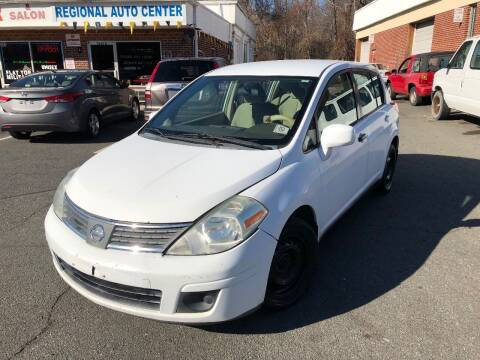 2008 Nissan Versa for sale at REGIONAL AUTO CENTER in Stafford VA