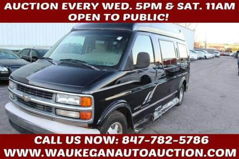 1999 Chevrolet Express for sale at Waukegan Auto Auction in Waukegan IL