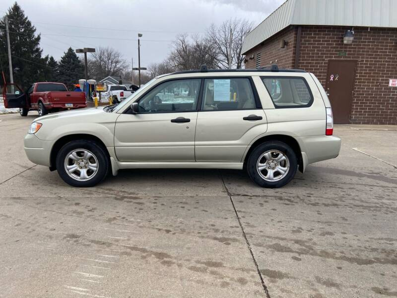 2007 Subaru Forester for sale at RIVERSIDE AUTO SALES in Sioux City IA