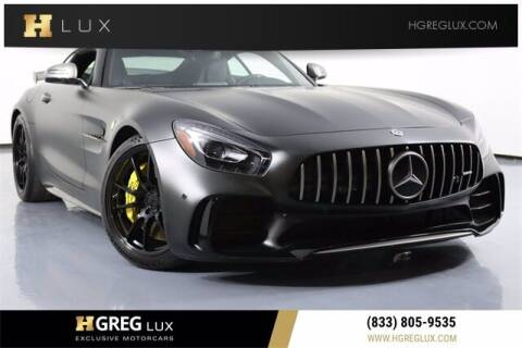 2019 Mercedes-Benz AMG GT for sale at HGREG LUX EXCLUSIVE MOTORCARS in Pompano Beach FL