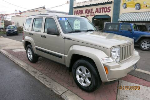 2010 Jeep Liberty for sale at PARK AVENUE AUTOS in Collingswood NJ