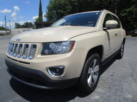 2016 Jeep Compass for sale at Lewis Page Auto Brokers in Gainesville GA