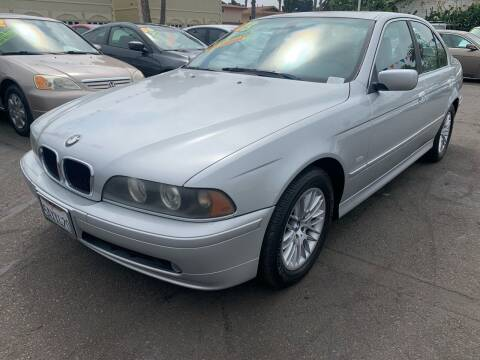 2003 BMW 5 Series for sale at North County Auto in Oceanside CA