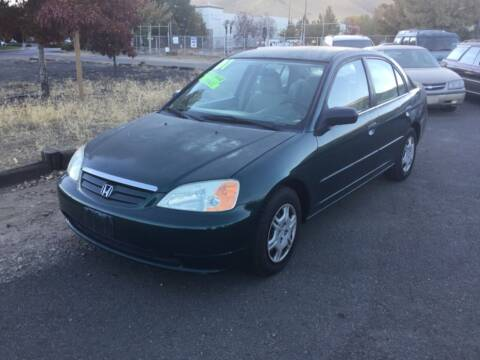 2001 Honda Civic for sale at Small Car Motors in Carson City NV