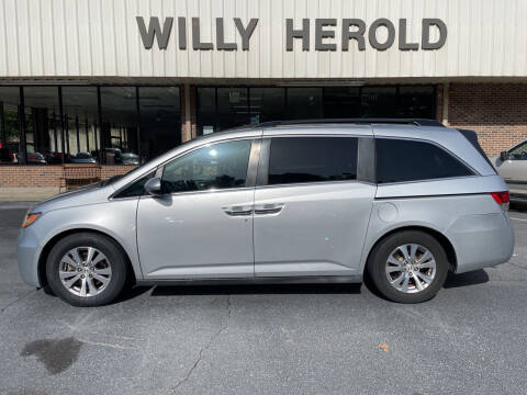 2014 Honda Odyssey for sale at Willy Herold Automotive in Columbus GA