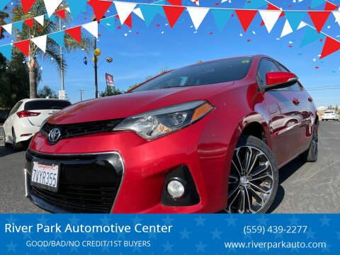 2015 Toyota Corolla for sale at River Park Automotive Center in Fresno CA