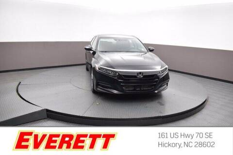 2019 Honda Accord for sale at Everett Chevrolet Buick GMC in Hickory NC