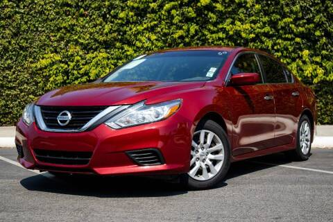 2018 Nissan Altima for sale at 605 Auto  Inc. in Bellflower CA
