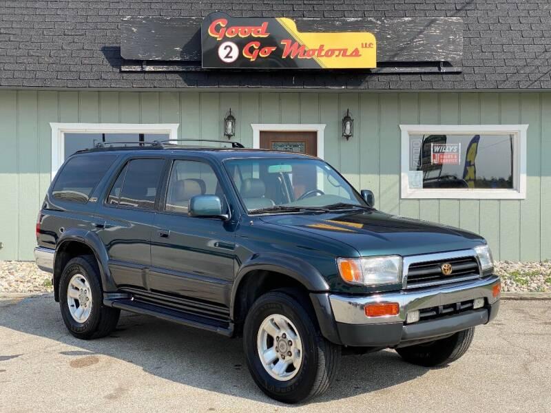 1997 Toyota 4Runner for sale at Good 2 Go Motors LLC in Adrian MI