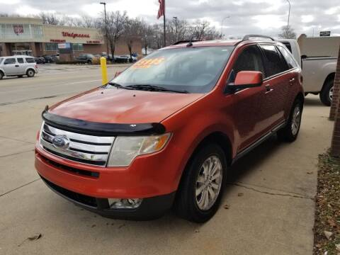 2008 Ford Edge for sale at Madison Motor Sales in Madison Heights MI