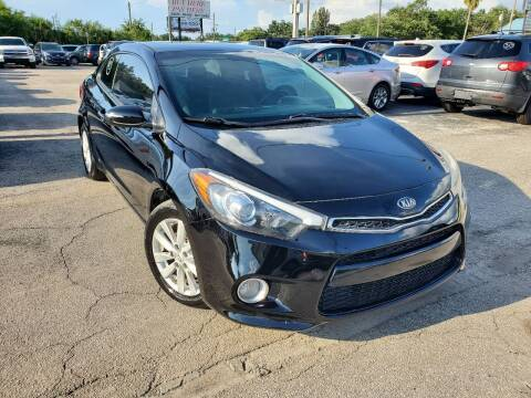 2014 Kia Forte Koup for sale at Mars auto trade llc in Kissimmee FL