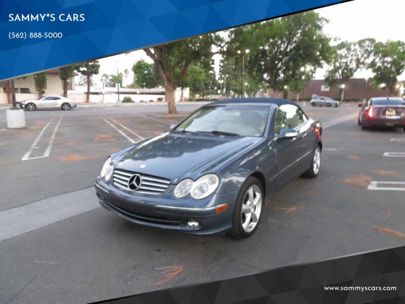 "2005 Mercedes-Benz CLK for sale at SAMMY""S CARS in Bellflower CA"