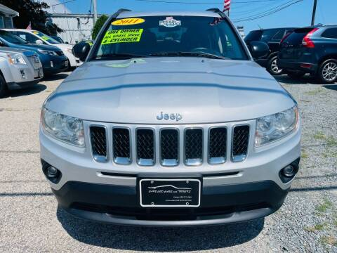 2011 Jeep Compass for sale at Cape Cod Cars & Trucks in Hyannis MA