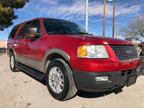 2003 Ford Expedition for sale at Eastside Auto Sales in El Paso TX