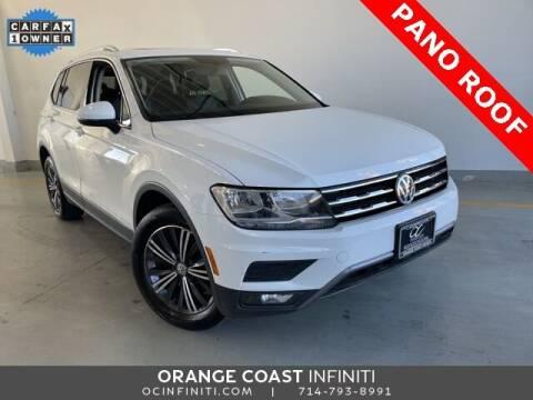 2018 Volkswagen Tiguan for sale at ORANGE COAST CARS in Westminster CA