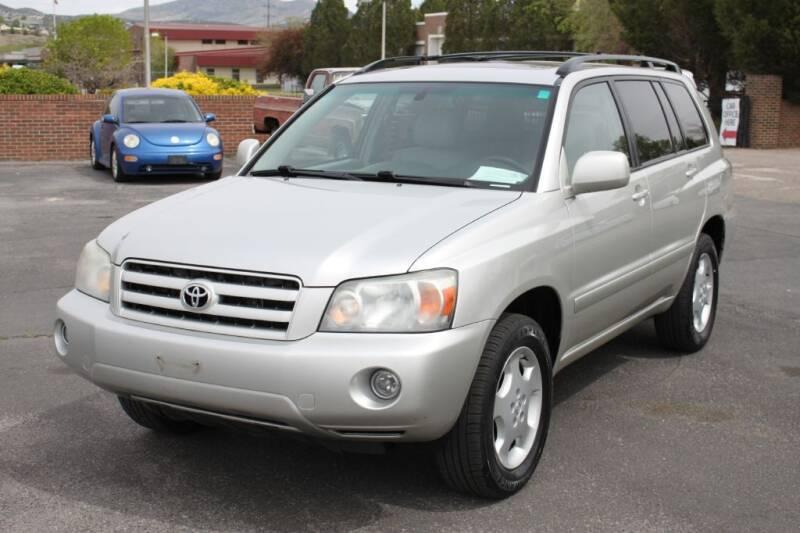 2007 Toyota Highlander for sale at Motor City Idaho in Pocatello ID