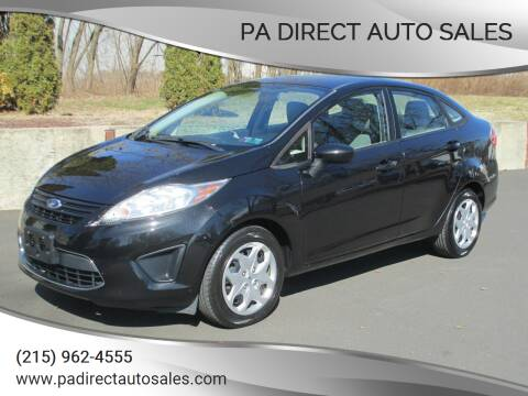 2011 Ford Fiesta for sale at PA Direct Auto Sales in Levittown PA