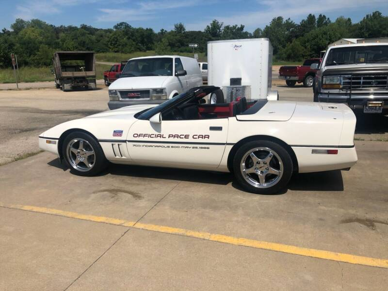 1986 Chevrolet Corvette for sale at KING AUTO SALES, LLC in Farmington MO