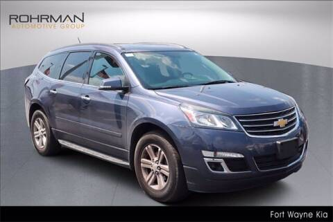 2014 Chevrolet Traverse for sale at BOB ROHRMAN FORT WAYNE TOYOTA in Fort Wayne IN
