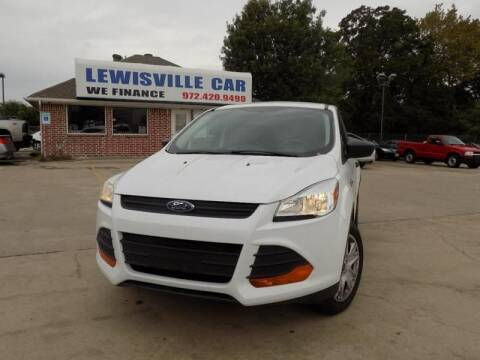 2013 Ford Escape for sale at Lewisville Car in Lewisville TX