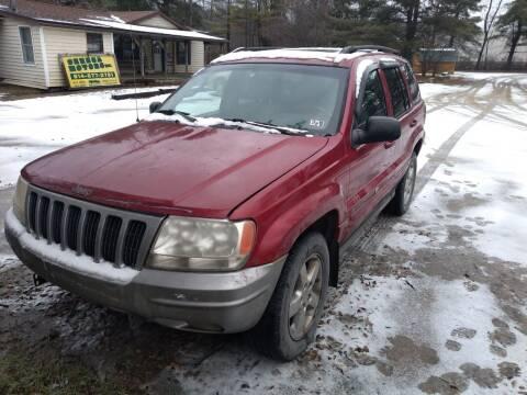 2002 Jeep Grand Cherokee for sale at Seneca Motors, Inc. (Seneca PA) in Seneca PA