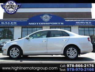 2010 Volkswagen Jetta for sale at Highline Group Motorsports in Lowell MA