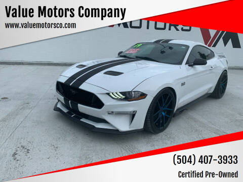 2019 Ford Mustang for sale at Value Motors Company in Marrero LA