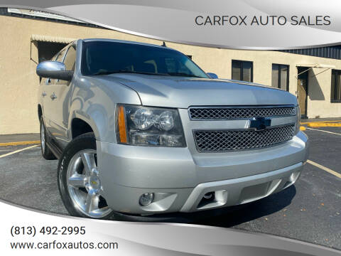 2013 Chevrolet Tahoe for sale at Carfox Auto Sales in Tampa FL