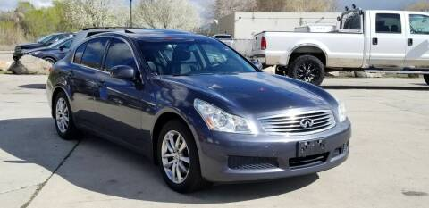 2007 Infiniti G35 for sale at FRESH TREAD AUTO LLC in Springville UT