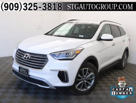 2017 Hyundai Santa Fe for sale at STG Auto Group in Montclair CA
