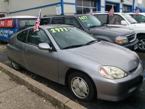 2000 Honda Insight for sale at Klein on Vine in Cincinnati OH