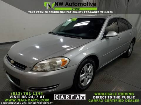 2006 Chevrolet Impala for sale at NW Automotive Group in Cincinnati OH