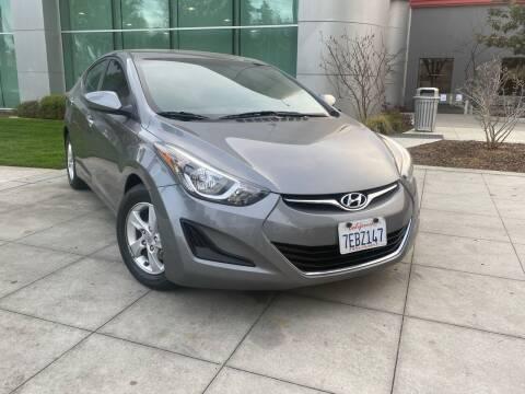 2014 Hyundai Elantra for sale at Top Motors in San Jose CA