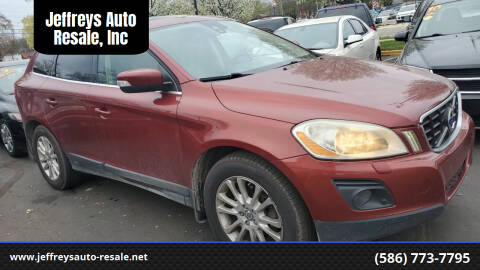 2010 Volvo XC60 for sale at Jeffreys Auto Resale, Inc in Clinton Township MI
