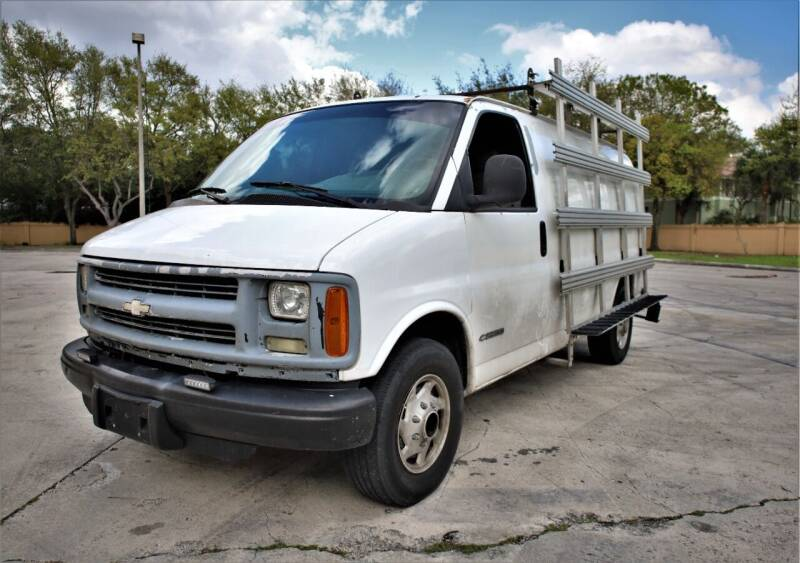 2002 Chevrolet Express Cargo for sale at Easy Deal Auto Brokers in Hollywood FL