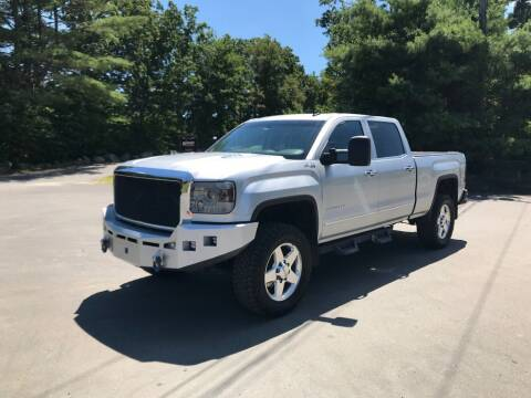 2015 GMC Sierra 2500HD for sale at Nala Equipment Corp in Upton MA