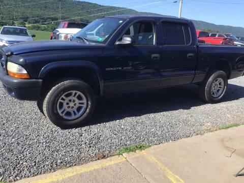 2002 Dodge Dakota for sale at Troys Auto Sales in Dornsife PA