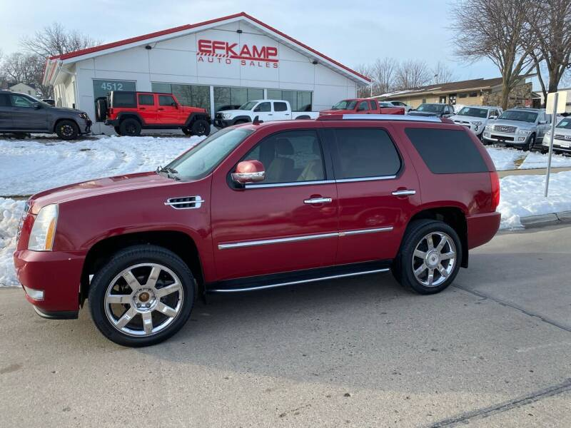 2009 Cadillac Escalade for sale at Efkamp Auto Sales LLC in Des Moines IA