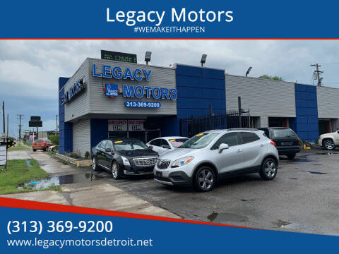 2013 Buick Encore for sale at Legacy Motors in Detroit MI