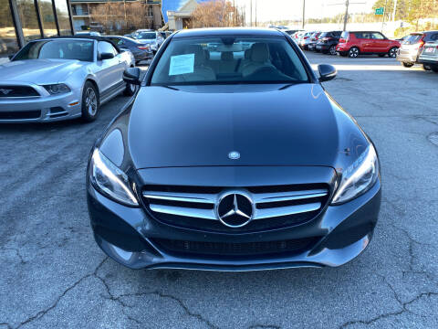 2015 Mercedes-Benz C-Class for sale at J Franklin Auto Sales in Macon GA