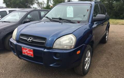 2007 Hyundai Tucson for sale at BARNES AUTO SALES in Mandan ND