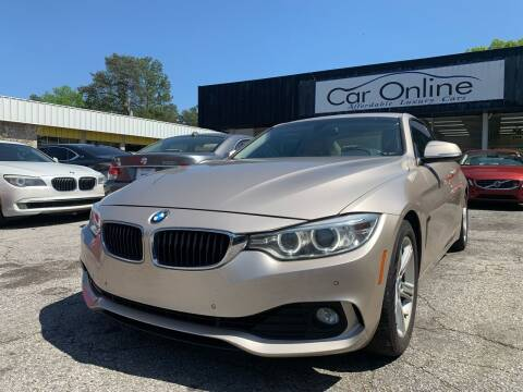 2014 BMW 4 Series for sale at Car Online in Roswell GA