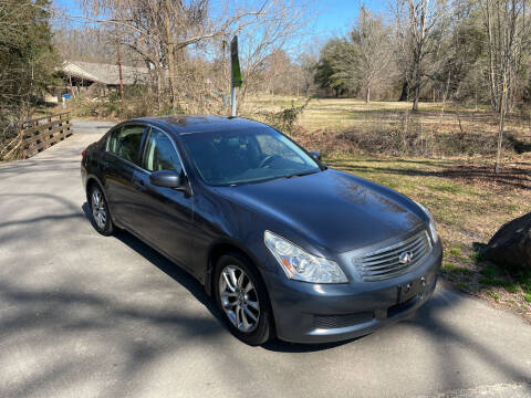 2008 Infiniti G35 for sale at Bull City Auto Sales and Finance in Durham NC