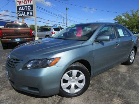 2007 Toyota Camry for sale at TRI CITY AUTO SALES LLC in Menasha WI