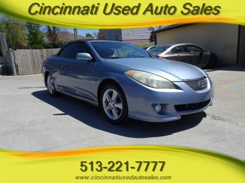 2006 Toyota Camry Solara for sale at Cincinnati Used Auto Sales in Cincinnati OH