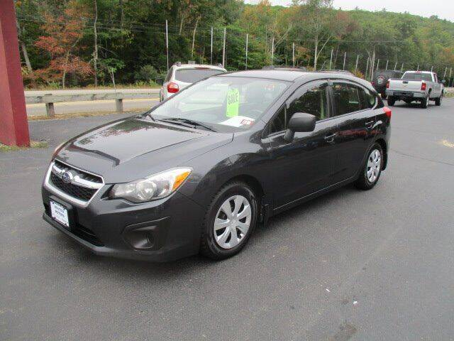 2014 Subaru Impreza for sale at Route 4 Motors INC in Epsom NH