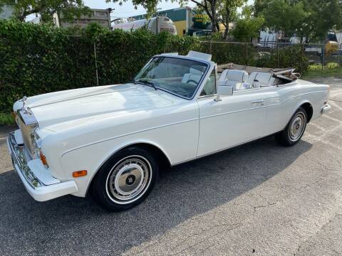 1991 Rolls-Royce Corniche for sale at Prestigious Euro Cars in Fort Lauderdale FL